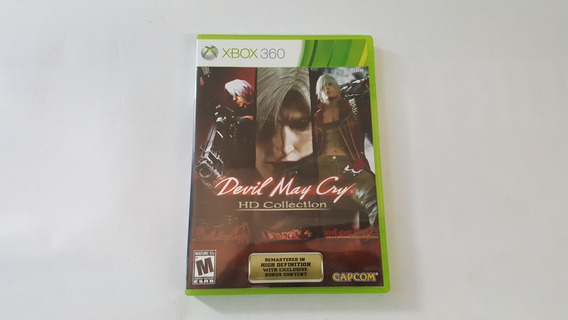Jogo Devil May Cry Hd Collection - Xbox 360 - Original