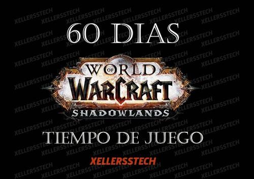 Ficha Wow World Of Warcraft O 30 Dias - Reinos Americanos