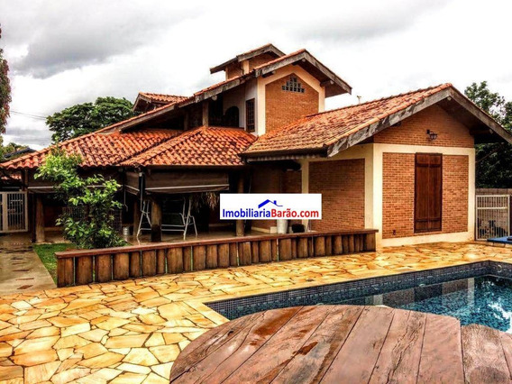 Duas Casas Construídas Num Terreno De 1000m² Unindo O Conforto, Bom Gosto E Aconchego - Ca1289