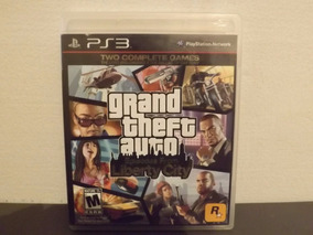 Ps3 Gta Episodes From Liberty City - Completo - Aceito Troca