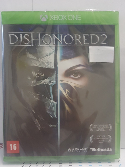 Jogo Xbox One Dishonored 2 Fisico Novo Lacrado