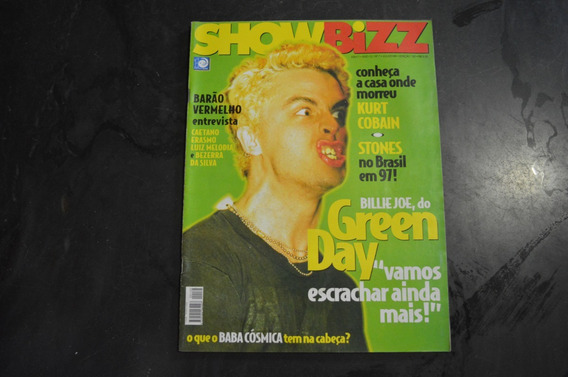 Show Bizz 132 Green Day Revista