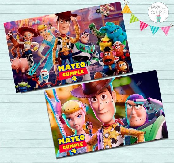 Toy Story Souvenir Personalizado Rompecabezas Imantado X10u