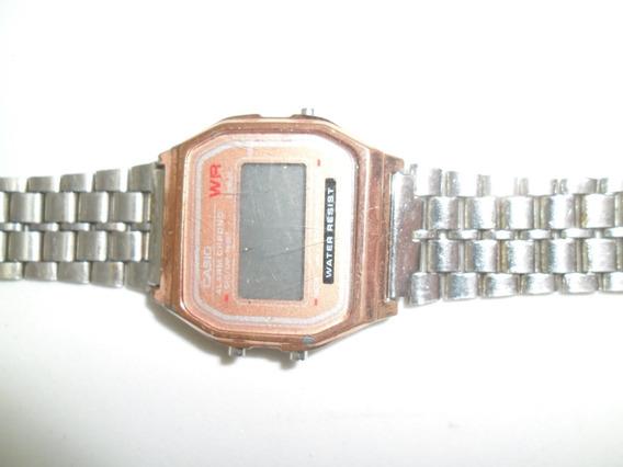 Relógio Casio Antigo Com Defeito Vendo No Estado Leia