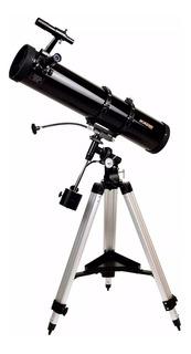 Telescopio Astronomico Hokenn H130900 Eq2 Brújula Software *