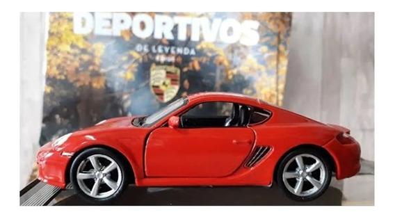 Deportivos De Leyenda. Porsche Cayman S. Escala 1/38