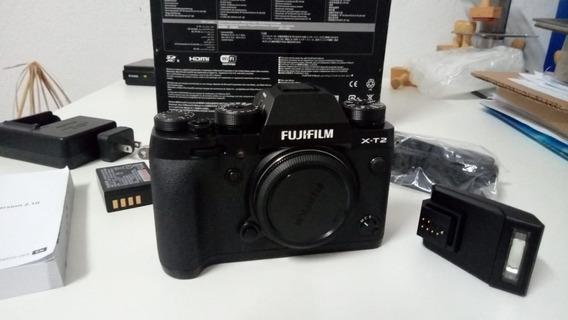 Câmera Fuji X-t2 Mirrorless - Filma Em 4k (somente Corpo)