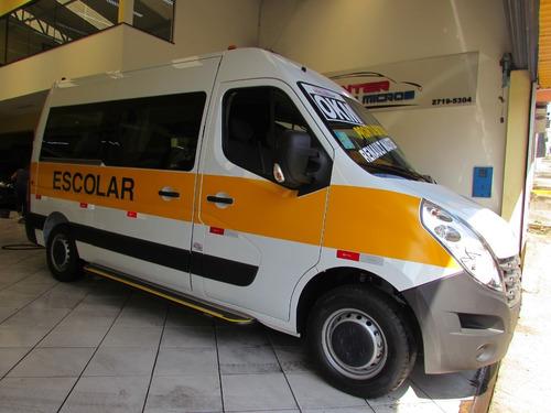 Renault Master Versão Escolar Com Patamar Elevado