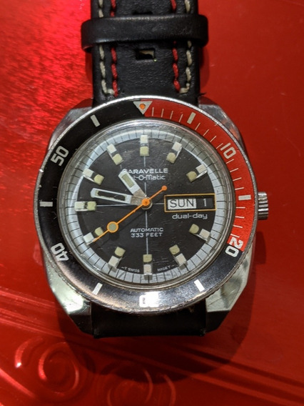 Reloj Diver Vintage Caravelle Set-o- Matic