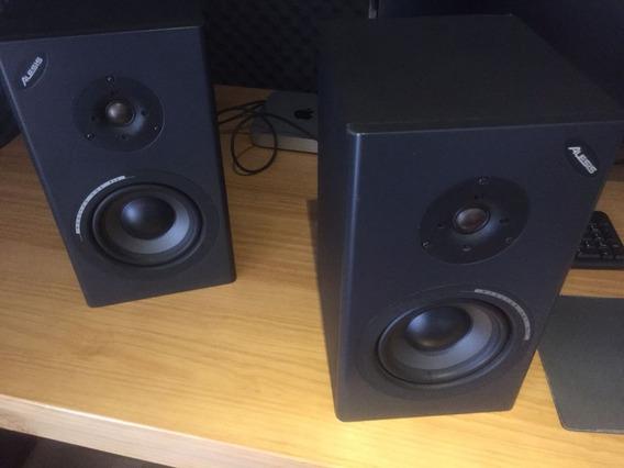 Par De Monitores Alesis Mkll +amplificador Ra150