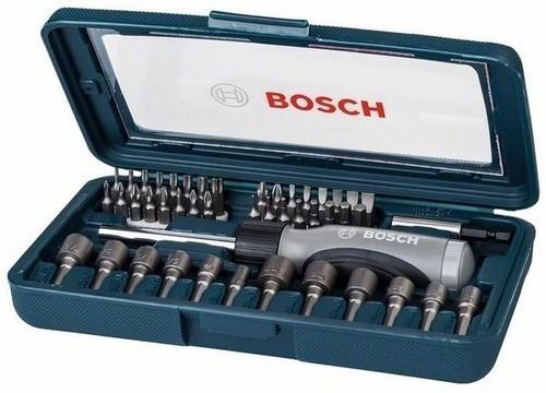 Imagen 1 de 7 de Juego Set Kit Bosch Prof 46p Accesorios Puntas Tub + Regalo