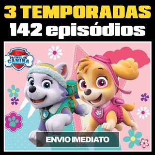 Patrulha Canina Download - 3 Temporadas/142 Episódios+6 Dvds