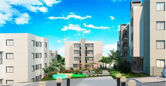 Apartamento Para Venda Em Ponta Grossa, Jardim Carvalho, 2 Dormitórios, 1 Banheiro, 1 Vaga - Vittacejd_1-858952
