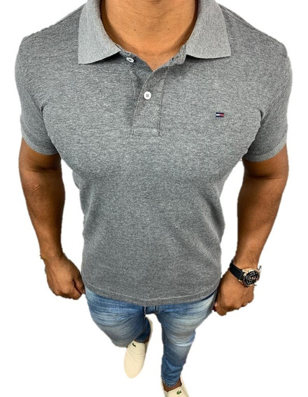 Camisa Camiseta Polo Tommy Hilfiger Custom Fit - Original