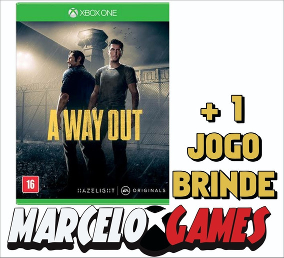 A Way Out Xbox One Midia Digital