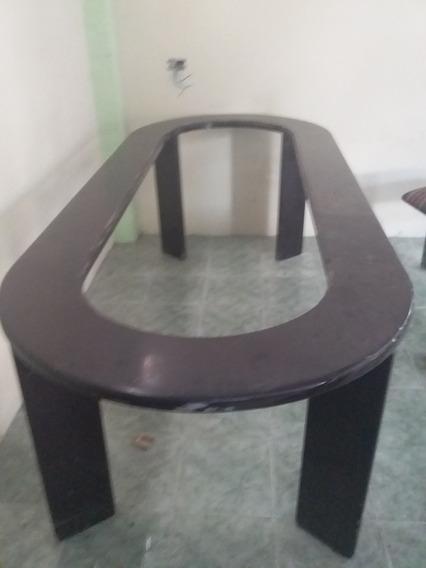 Mesa Familiar Con Sillas Y Mueble Para Televisión