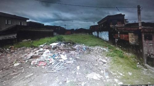 Imagem 1 de 3 de Terreno Em Vila Jockei Clube, São Vicente/sp De 0m² À Venda Por R$ 350.000,00 - Te582204