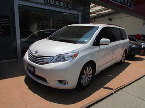 Toyota Sienna 3.5 Limited Mt 2013 Blanco