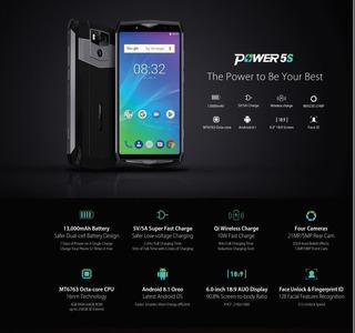 Ulefone Power 5 13000mah 7 Días De Batería!