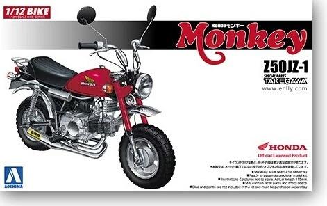 Honda Monkey Z50j Takegawa Para Armar Replica