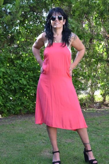 Vestido Largo Medio Forrado Para Las Fiestas La Plata