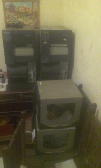 Kit 2 Impressoras Zebra Z6m Plus (leia)