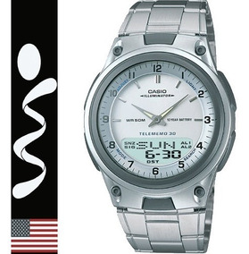 Reloj Casio Aw-80 Metalico Analogo Digital En Caja Original