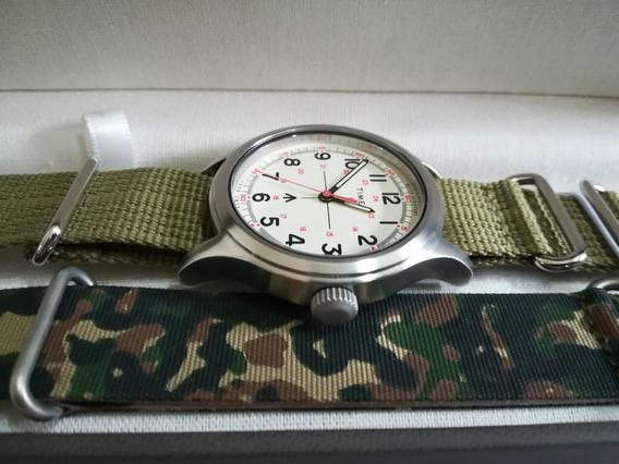 Reloj Timex Militar Edicion Todd Snyder New York C/blanca