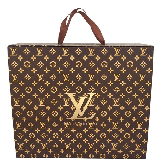 Caja Louis Vuitton Para Regalo (shoping Bag)