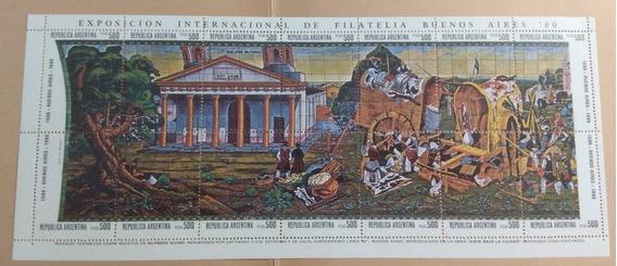 Sellos De Argentina 1980