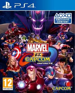 Marvel Vs Capcom Infinite Ps4 - Recibilo Hoy!! Leer!! 2°