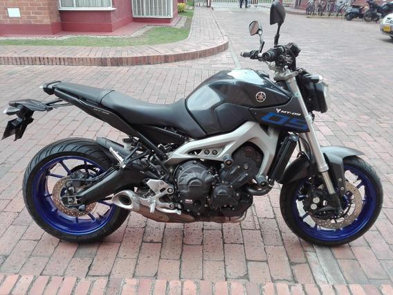 Yamaha Mt 09 Abs Gris