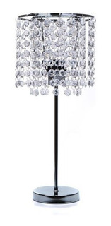 Lámpara De Mesa Crystals Transparente