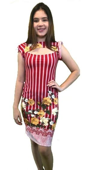 Vestido Gola Suplex 8 Peças