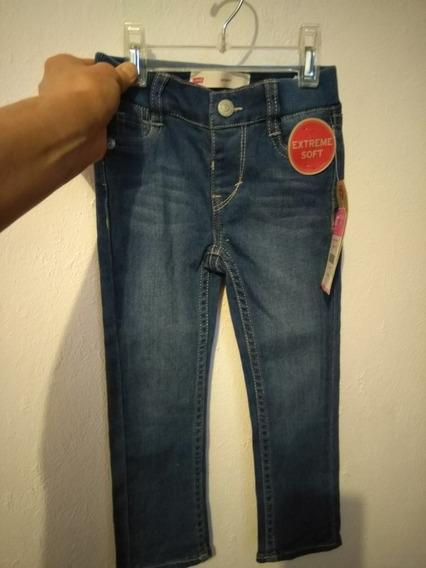 Pantalon Levis Para Niña Talla 2