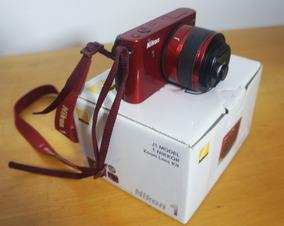 Nikon J1 + Lente 10/30mm, Na Caixa, C/ Acessórios E Nota