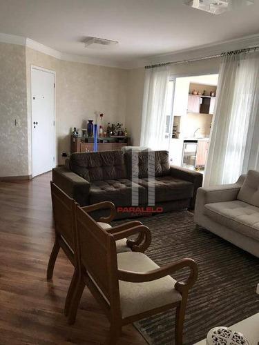 Apartamento Com 3 Dormitórios À Venda, 125 M² Por R$ 990.000 - Mooca - São Paulo/sp - Ap2761