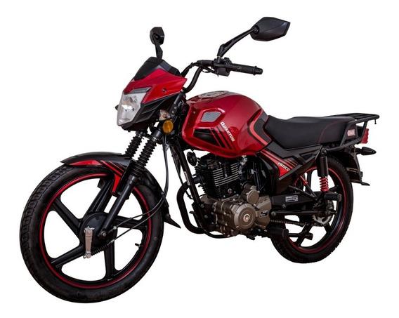 Motocicleta Mb Quantum 150cc Roja