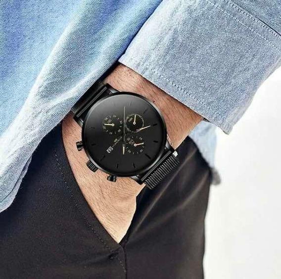 Relógio Militar Em Aço Inoxidável (sport Quartz)