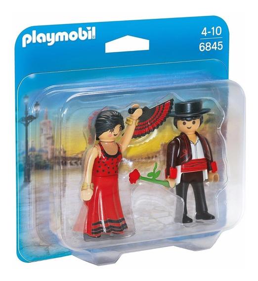 Playmobil 6845 Duo Pack Dançarinos De Flamenco Geobra