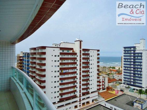 Vista-mar, 2 Dorms, Ocian, Praia Grande, R$ 280 Mil, Ap00704 - Vap00704