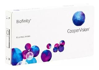 Lente De Contato Biofinity - Entrega Rápida + Lente Extra