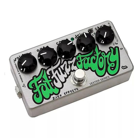 Zvex Pedal Vexter Fat Fuzz Factory Original Guitarra + Fonte