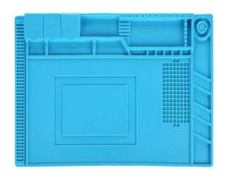 Manta Magnetica Antiestatica Silicone Azul S-160 G 300x450
