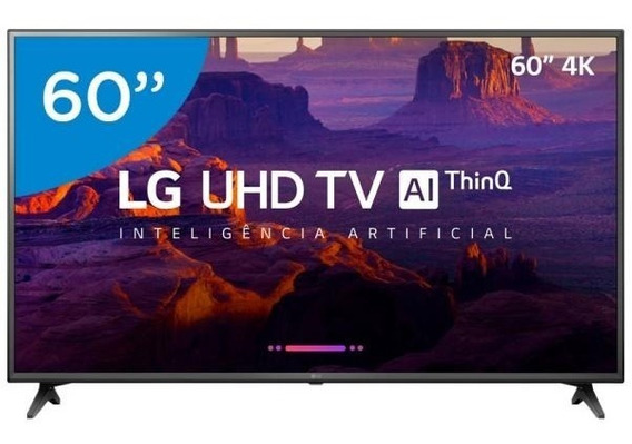 Smart Tv 4k Led 60 Lg Wi-fi Hdr -