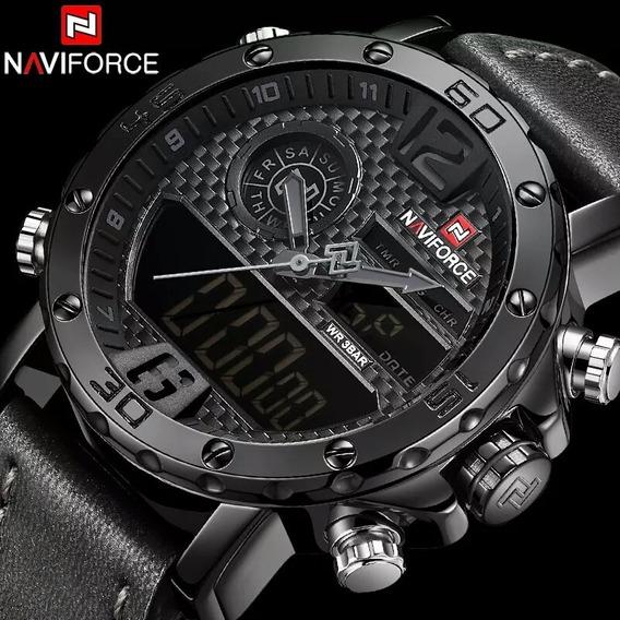 Relógio Esportivo Naviforce Original Frete Grátis