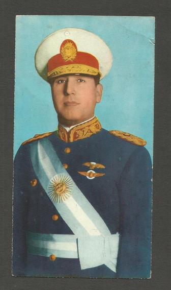 Antigua Postal Juan D. Perón Dedicada Y Autografiada