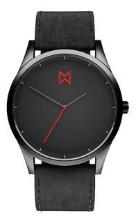 Reloj Mad Gun Arbat - Reloj De Hombre - Malla Cuero Negra