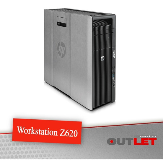 Computador Workstation Hp Z620 Xeon Memoria Ecc Quadro 1gb