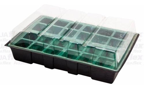 Mini Invernadero Bandeja De Cultivo 24 Celdas Aquaflex